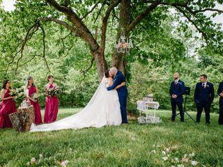 The wedding of Naomi and Matthew