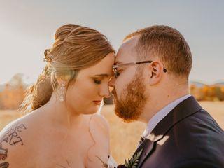 The wedding of Johnna and Zach