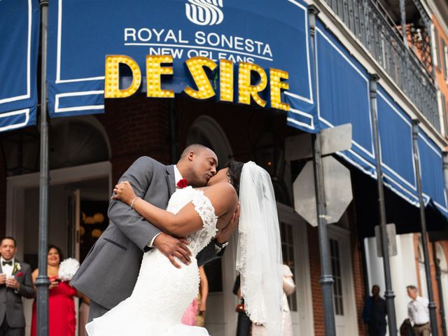 Jeffery and Shamika's Wedding in New Orleans, Louisiana 1