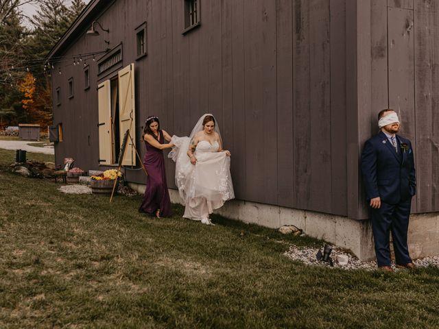 Zach and Johnna's Wedding in Tamworth, New Hampshire 32