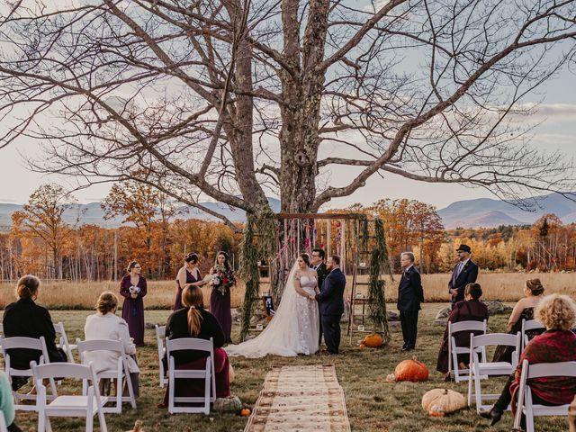 Zach and Johnna's Wedding in Tamworth, New Hampshire 39