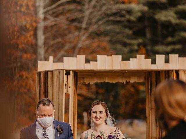 Zach and Johnna's Wedding in Tamworth, New Hampshire 42