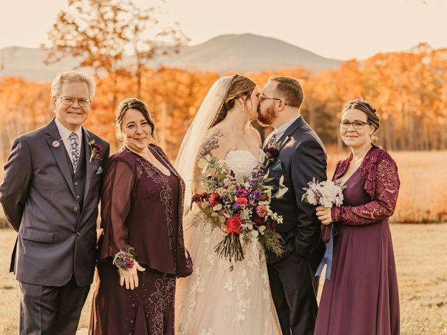 Zach and Johnna's Wedding in Tamworth, New Hampshire 43