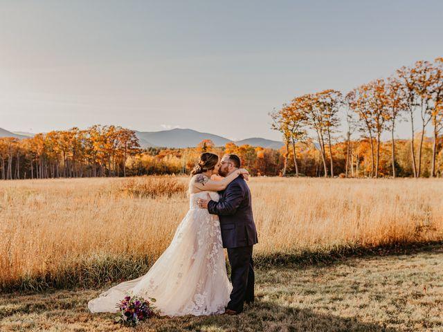 Zach and Johnna's Wedding in Tamworth, New Hampshire 2