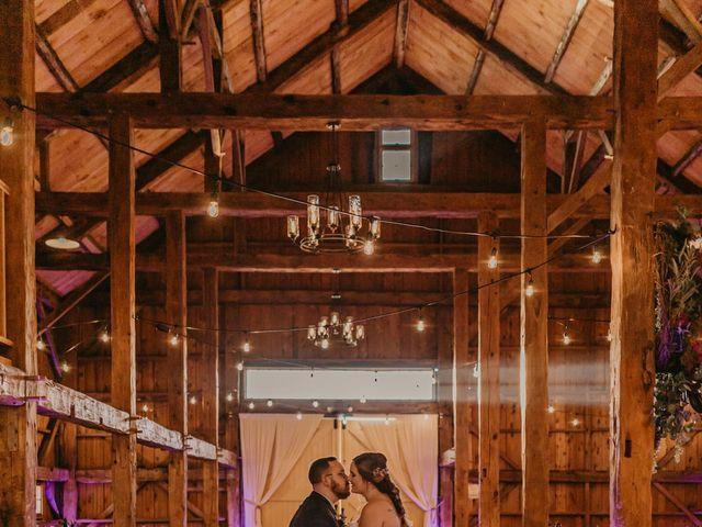 Zach and Johnna's Wedding in Tamworth, New Hampshire 50