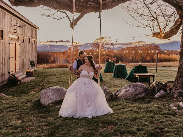 Zach and Johnna's Wedding in Tamworth, New Hampshire 55