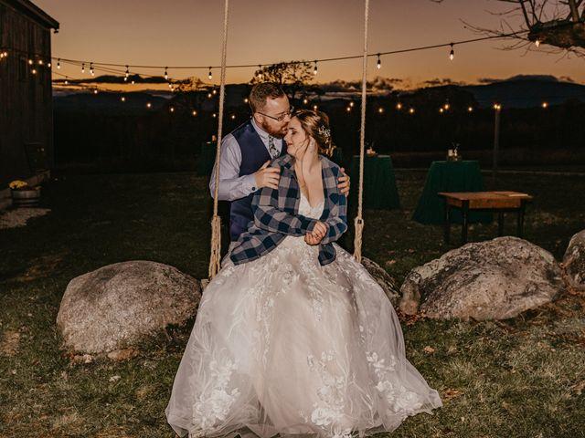 Zach and Johnna's Wedding in Tamworth, New Hampshire 57
