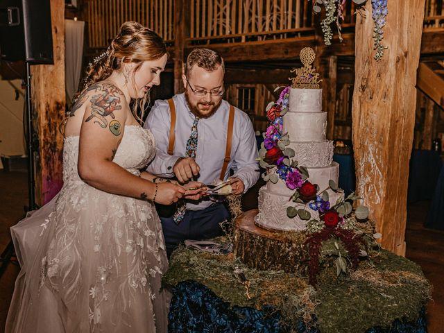 Zach and Johnna's Wedding in Tamworth, New Hampshire 58