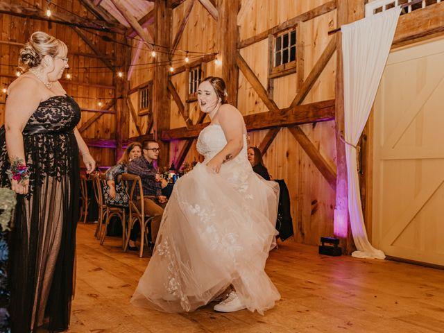 Zach and Johnna's Wedding in Tamworth, New Hampshire 59
