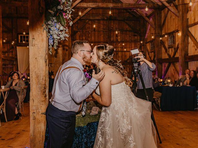 Zach and Johnna's Wedding in Tamworth, New Hampshire 61