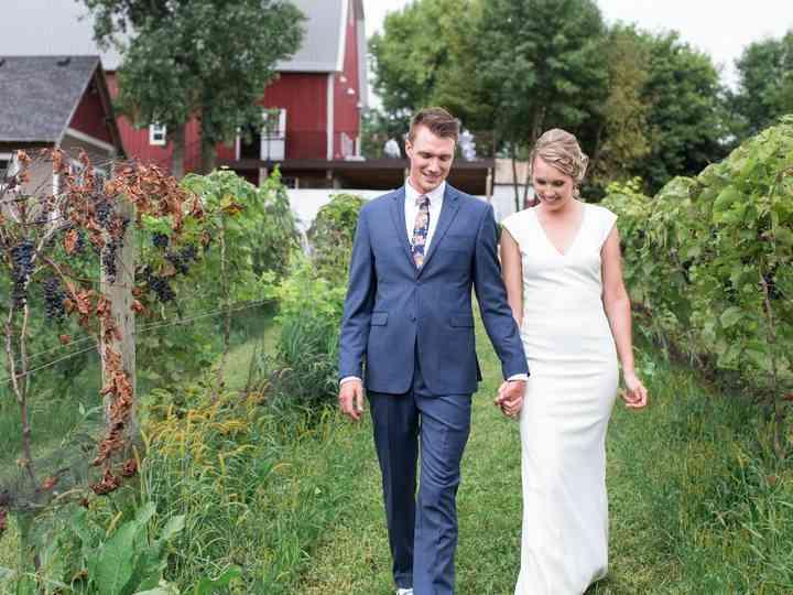 The wedding of Jack and Maren