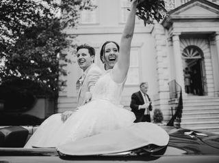 The wedding of Cori and Bert 1