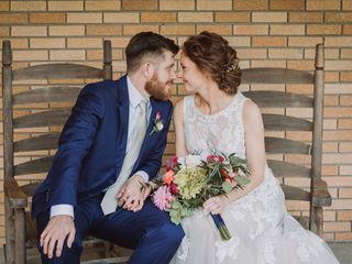 The wedding of Bethany and Zac