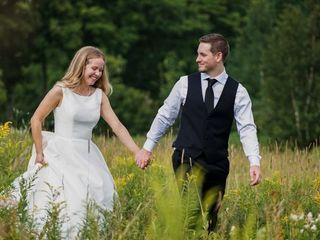 The wedding of Rachel and Ethan 1