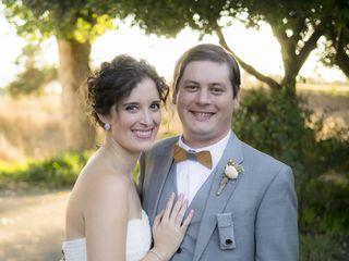 The wedding of James and Angela 1