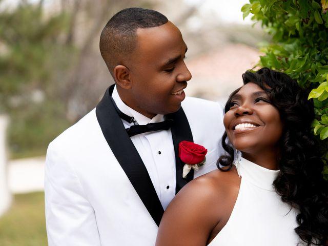 The wedding of Cameshia and Paul