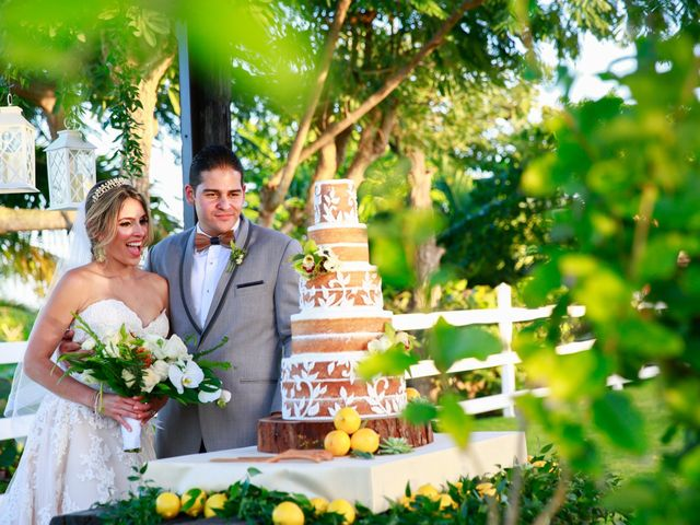 The wedding of Beatriz and Jean Paul