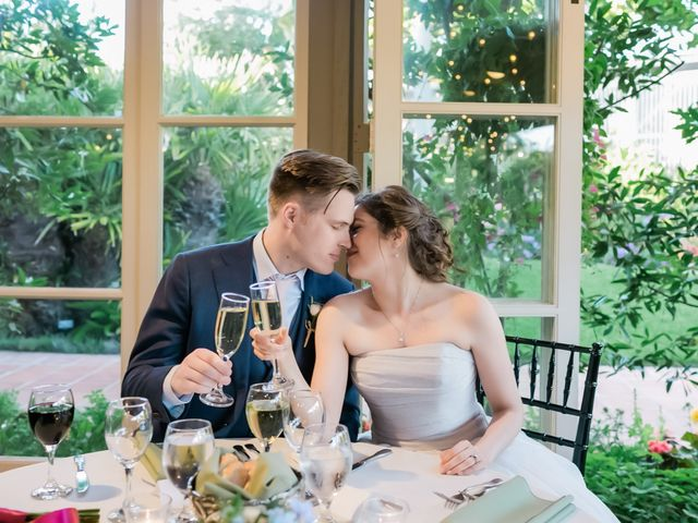 The wedding of Melanie and Colin