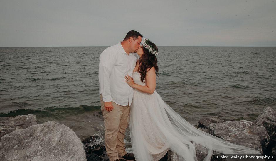 Matt and Heather's Wedding in Baileys Harbor, Wisconsin