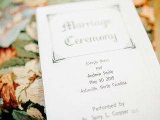 The wedding of Andrew and Joseph 2