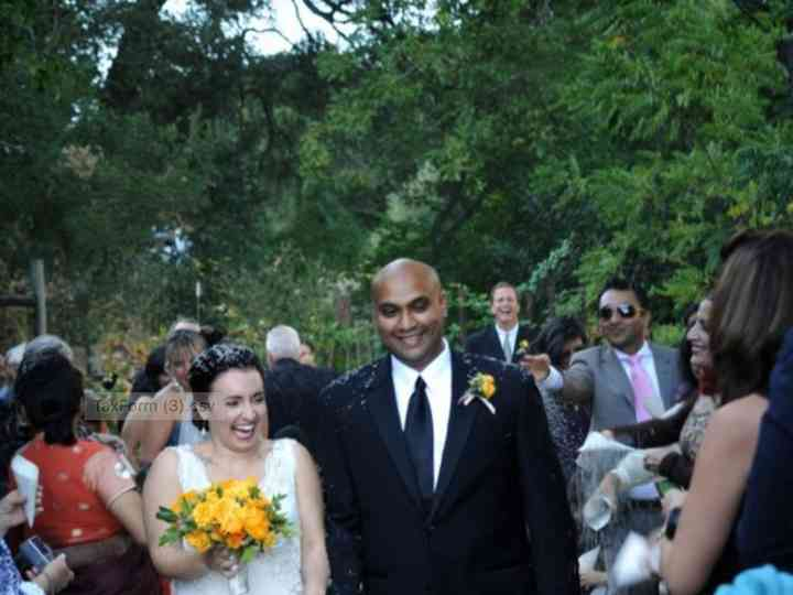 The wedding of Raelene and Raghu