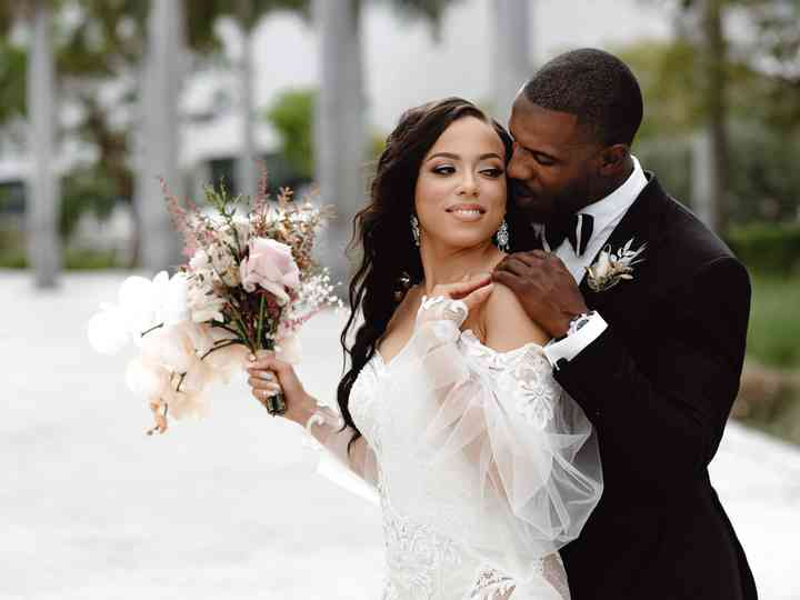 The wedding of Lamar and Jessica