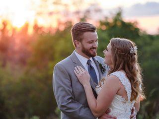 The wedding of Jenessa and Zach