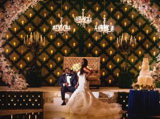 The wedding of Jasmine and Reynard