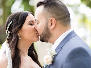 The wedding of José and Karen