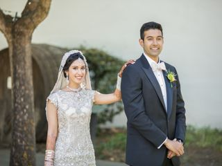 The wedding of Ayma and Ahmed