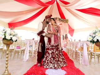 The wedding of Saachi and Mrugesh 2