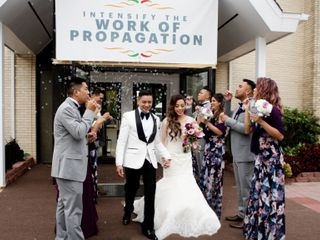 The wedding of Kristine and Eric 1