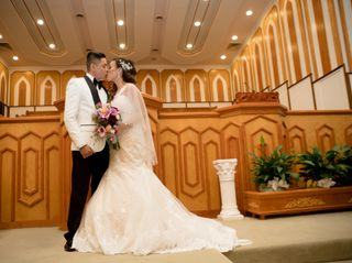The wedding of Kristine and Eric