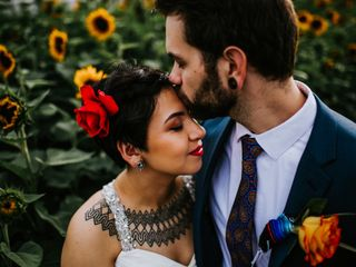 The wedding of Rosalia and Paul 3