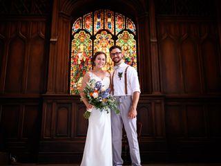 The wedding of Aaron and Rebekah
