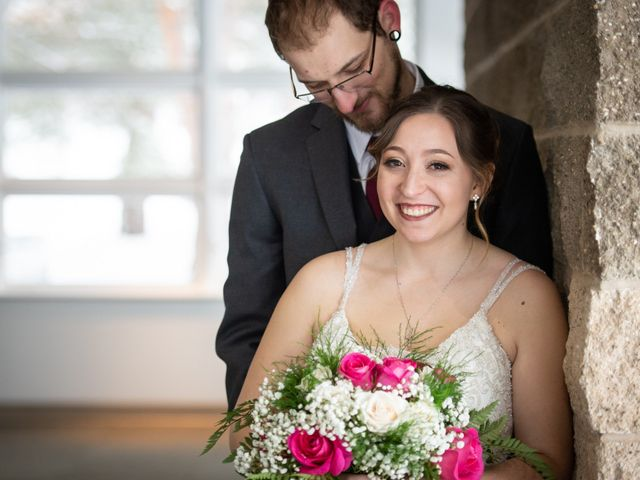 The wedding of Amber and Michael