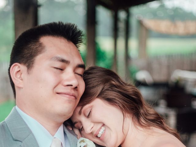 Phat and Natelee's Wedding in Waterford, Virginia 7
