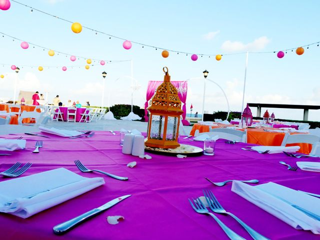 Mrugesh and Saachi's Wedding in Cancun, Mexico 8