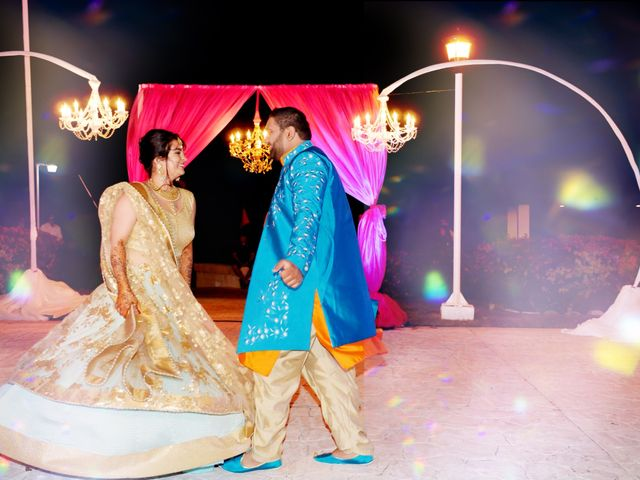 Mrugesh and Saachi's Wedding in Cancun, Mexico 11