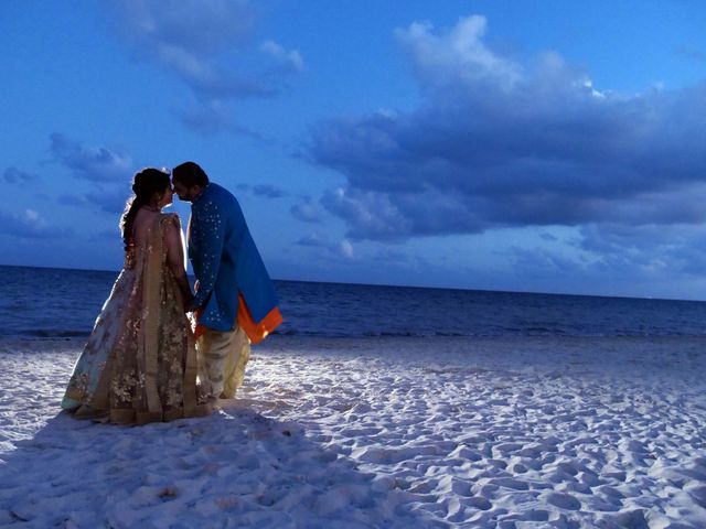 Mrugesh and Saachi's Wedding in Cancun, Mexico 12