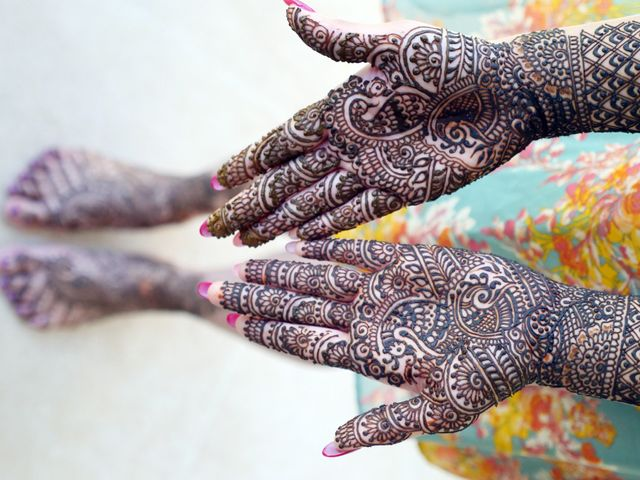 Mrugesh and Saachi's Wedding in Cancun, Mexico 13