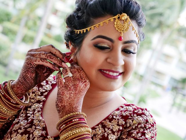 Mrugesh and Saachi's Wedding in Cancun, Mexico 19