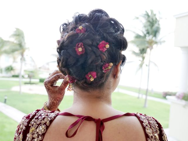 Mrugesh and Saachi's Wedding in Cancun, Mexico 20