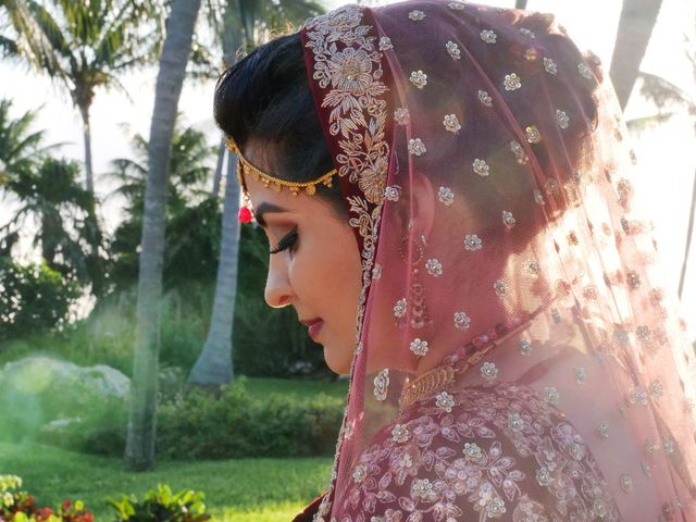 Mrugesh and Saachi's Wedding in Cancun, Mexico 24