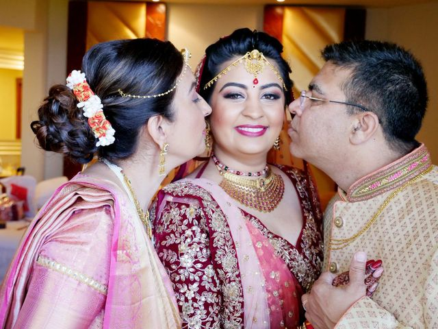 Mrugesh and Saachi's Wedding in Cancun, Mexico 25