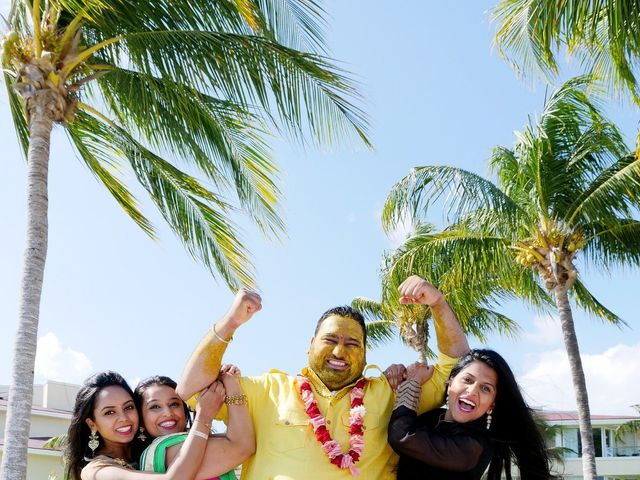 Mrugesh and Saachi's Wedding in Cancun, Mexico 29