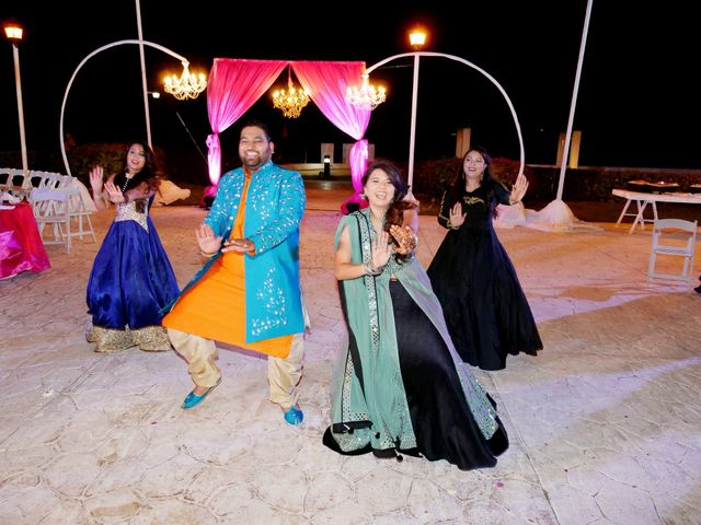 Mrugesh and Saachi's Wedding in Cancun, Mexico 34
