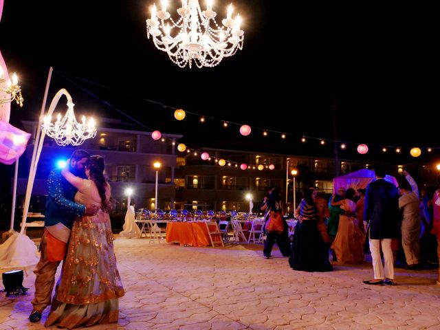 Mrugesh and Saachi's Wedding in Cancun, Mexico 35