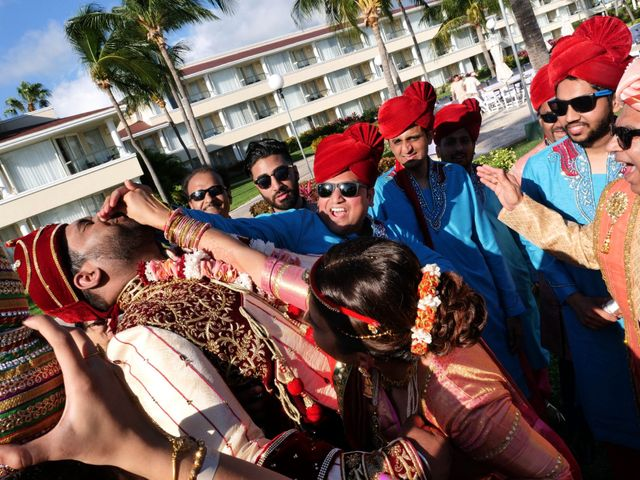 Mrugesh and Saachi's Wedding in Cancun, Mexico 40