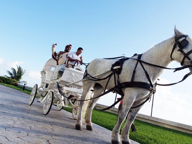 Mrugesh and Saachi's Wedding in Cancun, Mexico 42